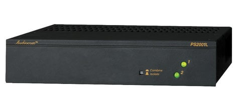2-channel Audiocom Power Supply by Telex, PS2001L | Full Compass Systems