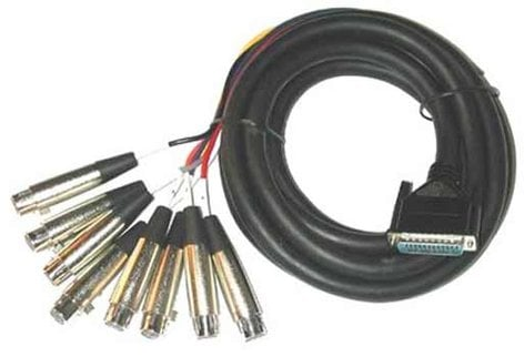 Yamaha AD96 CABLE 13ft 25-Pin to 8 Female XLR Cable AD96-CABLE-CA