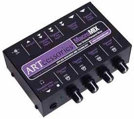 ART MacroMix 4-Channel Personal Mixer MACROMIX