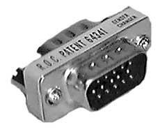 Philmore 70-316  VGA HD15 Male to Male Coupler 70-316