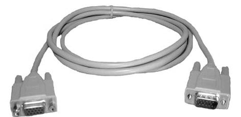 Philmore 70-5020B  6 ft. HD15 VGA Female to Male Cable (Bulk Packing) 70-5020B