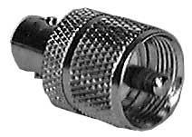 Philmore 950NPB BNC Female to UHF Male Adapter (Bulk Packed) 950NPB
