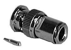Philmore 961NPB UG-88/U Screw-Clamp Style BNC Male Connector (for RG59/U Wire) 961NPB