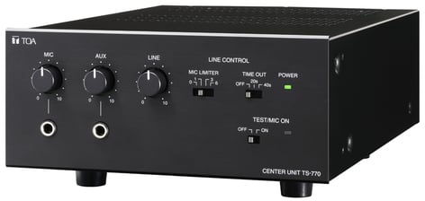 TOA TS770CU  TS-770 Center Unit for TS-770 Series Conference System TS770CU