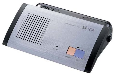 TOA TS801Y TS-801 Infrared Station for TS-800 System with Speaker and No Microphone TS801Y