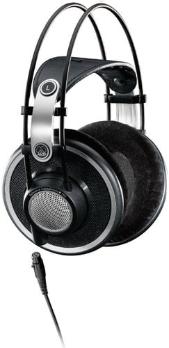 AKG K702 Open Back Over-Ear Reference Studio Headphones with 3M Detachable Cable K702