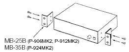 TOA MB-35B Rack Mount Kit for P-924MK2 MB35B