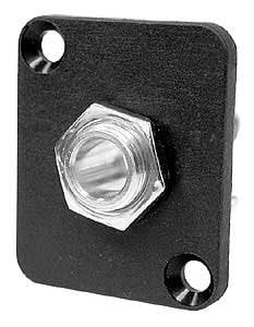 Ace Backstage Co. C25127  Switchcraft 1/4 Inch Mono Phone Jack (#11) on DBA, Panel Mount, Connectrix C25127