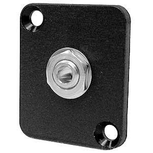 Ace Backstage Co. C25135  Switchcraft 1/8 Inch Mini Mono Phone Jack (#41) on DBA, Panel Mount, Connectrix C25135