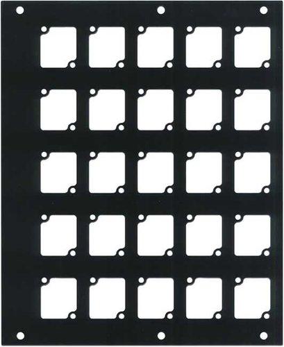 Ace Backstage Co. PNL-1425 Aluminum CONNECTRIX Pocket Panel, with 25 CONNECTRIX Mounts PNL-1425