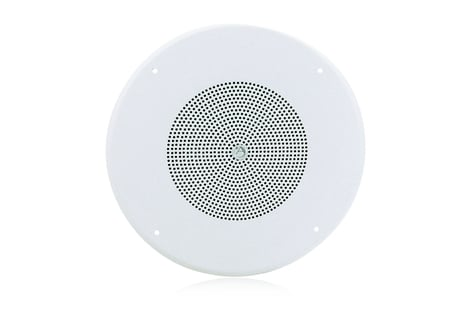 Atlas Sound GD87W Ceiling Speaker, White Grill GD87W