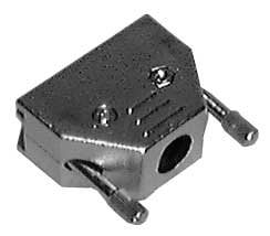 Philmore HDT15B  Black Plastic Hood for D-Sub Connector (Not Packaged) HDT15B