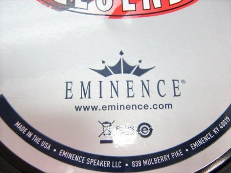 "Eminence Speaker LEGEND 1218 12"" Guitar Speaker LEGEND 1218"