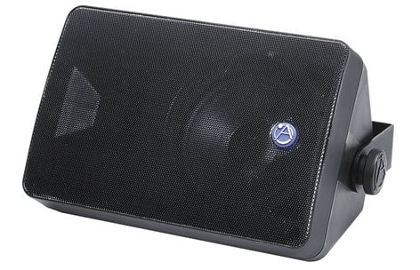 "Atlas Sound SM52T-B 5.25"" 2-Way Surface Mount Speaker with 70V Transformer SM52T-BLACK"