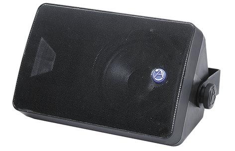 "Atlas Sound SM52T-B 5.25"" 2-Way Surface Mount Speaker with 70V Transformer SM52T-BLACK"