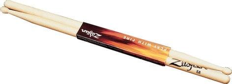 Zildjian 5AWN Natural Drumsticks, 5A Wood Tip 5AWN