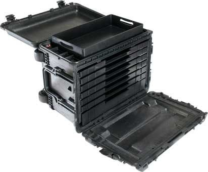 Pelican Cases PC0450WD Mobile Tool Chest with Drawers PC0450WD