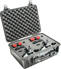 Pelican Cases PC1524 1520 Medium Case with Padded Dividers PC1524