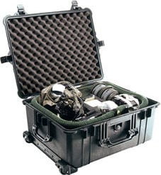 Pelican Cases PC1610NF Large Rolling Case with Handle WITHOUT Foam PC1610NF