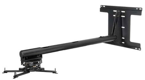 Peerless PSTA-028-B  Short Throw Projector Arm Mount (WITHOUT Plate, Black) PSTA-028-B