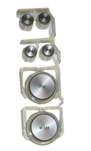 Pioneer DXB2067 Pioneer Mixer Knob Set DXB2067