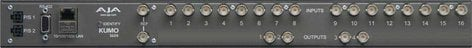 AJA Video Systems Inc KUMO-1604 Compact SDI Router with 16 Inputs x 4 Outputs KUMO-1604
