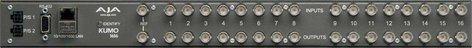 AJA Video Systems Inc KUMO 1616 Compact SDI Router, 16 Inputs x 16 Outputs KUMO-1616