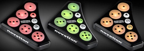 Novation Dicer 1 Pair of Cue Point & Looping Controllers for Serato, Traktor Scratch Pro, etc. DICER