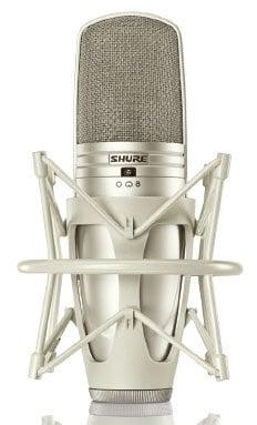 Shure KSM44A/SL Multi-Pattern Large Dual Diaphragm Side-Address Condenser Microphone KSM44A/SL
