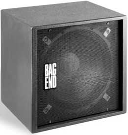 "Bag End S18E-I 18"" Subwoofer Speaker with Painted Installation Finish S18E-I"