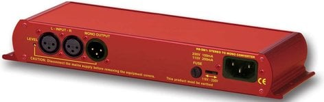 Sonifex RB-SM1  Single stereo to mono converter, buffered and balanced mono output RB-SM1