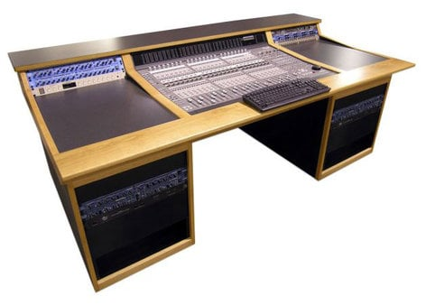 Sound Construc.& Supply C/24S1-2-1ISO  Custom Desk for Digidesign C24 Control Surface, w/ Isolation Boxes C/24S1-2-1ISO