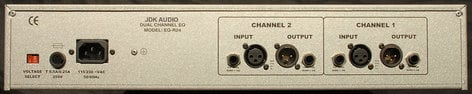 JDK Audio R24 4-Band Equalizer, Dual Channel R24-JDK