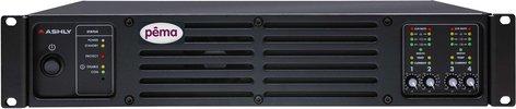 Ashly PEMA4125C Power Amplifier, 4x125W @ 4 Ohm, w/8x8 DSP Matrix, CobraNet Added PEMA4125C