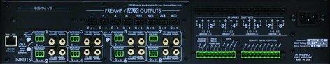 Ashly PEMA8125.70 Power Amplifier, 8x125W @ 70V, w/8x8 DSP Matrix PEMA8125.70