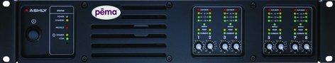 Ashly PEMA8125C Power Amplifier, 8x125W @ 4 Ohm, w/8x8 DSP Matrix, CobraNet Added PEMA8125C