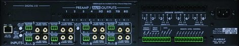 Ashly PEMA8250.70C Power Amplifier, 8x250W @ 70V, w/8x8 DSP Matrix, CobraNet Added PEMA8250.70C