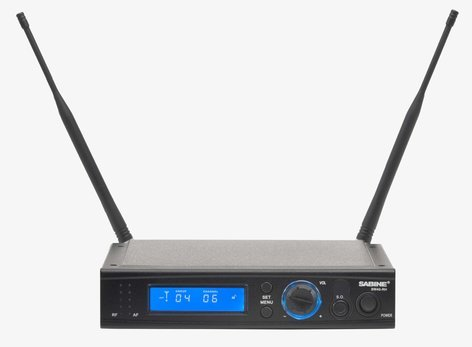 Sabine SW40-RH-U-M915  SWM4000 Receiver, 915MHZ, 1 Channel SW40-RH-U-M915