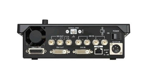 Panasonic AW-HS50 Sub-Compact HD/SD Switcher with Built-In MultiViewer AWHS50
