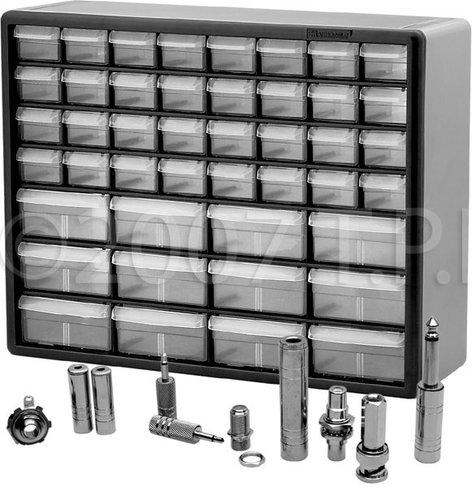 TecNec AVKIT/44CAB Audio Video Super Adapter Kit with Storage Cabinet AVKIT/44CAB