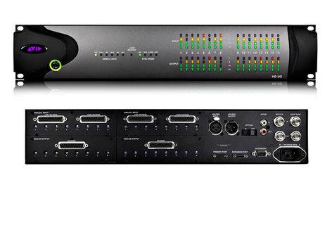 Avid HD I/O 8X8X8 Analog & Digital Pro Tools Audio Interface HD-I/O-8X8X8