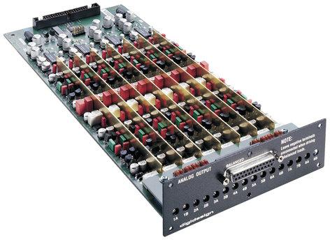 Avid HD I/O DA Option 8 Analog Output Expansion Card for HD I/O via DB25 HD-I/O-DA
