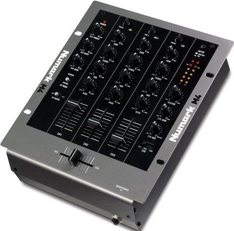 Numark M4-NUMARK 3-Channel Scratch Mixer (with 2 Phono/Line Inputs)