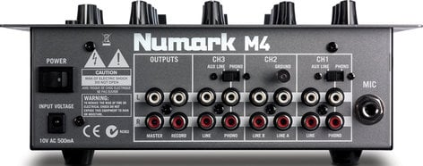 Numark M4-NUMARK  3-Channel Scratch Mixer (with 2 Phono/Line Inputs) M4-NUMARK