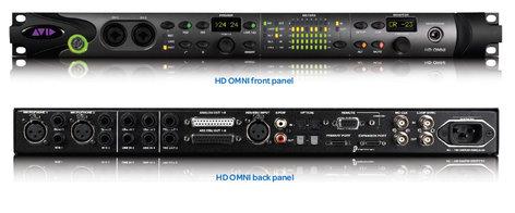 Avid HD OMNI Pro Tools|HD Professional Preamp/I/O/Monitoring Interface HD-OMNI-I/O
