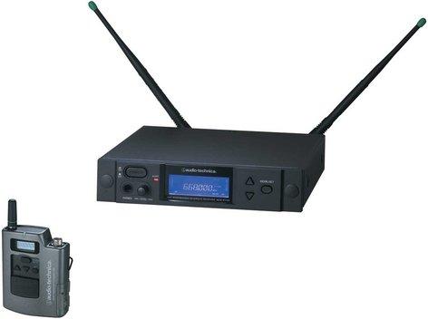 Audio-Technica AEW-4110AC Wireless Bodypack Microphone System, Band C: 541.500 to 566.375 MHz AEW-4110AC