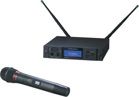 Audio-Technica AEW-4240AC Wireless Handheld Microphone System, AEW-T4100 Cardioid Dynamic Mic, Band C: 541.500 to 566.375 MHz AEW-4240AC
