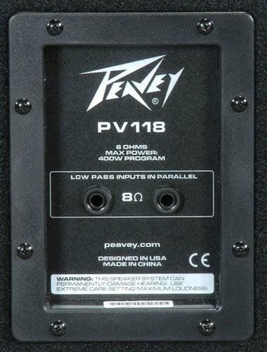 """Peavey PV118 PV Series 18"""" Subwoofer PV118"""