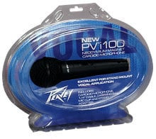 "Peavey PVI100-QTR-INCH  Dynamic Cardioid Microphone (with 6M 1/4"" Cable) PVI100-QTR-INCH"