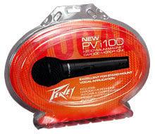 Peavey PVI100-XLR  Dynamic Cardioid Microphone (with 6M XLR Cable) PVI100-XLR